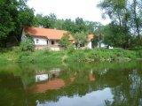 pohled z řeky Lužnice